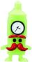 Mini Ben figure scream green