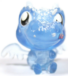 Burnie figure frostbite blue