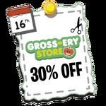 Gross-ery Store 30%