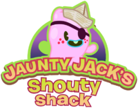 Jaunty Jack's Shouty Shack logo