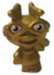 Agony Ant figure micro gold