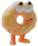 Oddie figure marble yellow