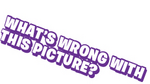 Whats wrong with this picture logo