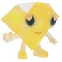 Roxy figure glitter yellow