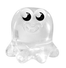 Sweeney Blob figure squishy clear