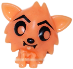 White Fang figure pumpkin orange