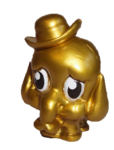Dinky figure gold