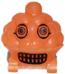 Cutie Pie figure pumpkin orange