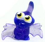 Gurgle figure glitter purple