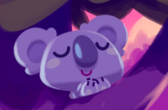Sleepypaws Goldie Twilight Art
