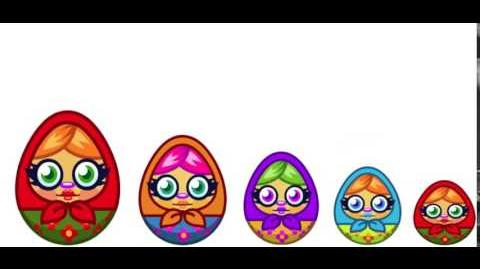 Mystery Egg Russian Doll
