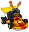 Moshi Karts helmet jet set