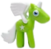 Angel figure goo green