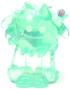 Flumpy figure christmas tree green