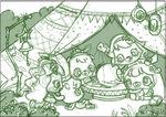 Meelisselim Juno tent sketch