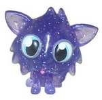 White Fang figure glitter purple