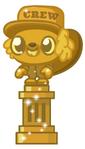 Golden Fitch Movie Statue