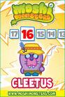 Countdown card s9 cleetus