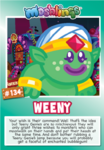 Collector card s8 weeny