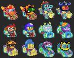 Meelisselim Moshi Karts Moshlings neon 1