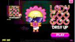 Lady goo goo dress up