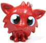 White Fang figure bauble red