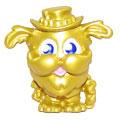 Buster Bumblechops figure gold