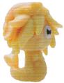 Cali figure marble yellow