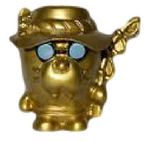 Cleetus figure gold
