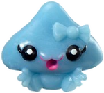 Kissy figure voodoo blue