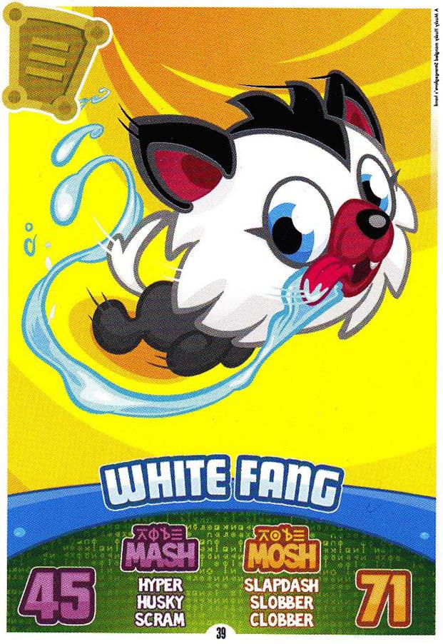 Ausgezeichnet Moshi Monster White Fang Malvorlagen Galerie ...