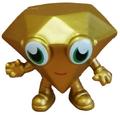 Roxy figure gold