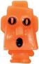 Rocky figure pumpkin orange