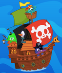 Cap'n Bucks Ship Wallpaper 2
