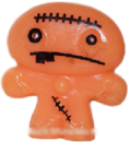 Hansel figure pumpkin orange