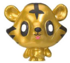 Jeepers figure gold tin