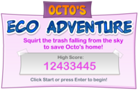 Octo's Eco Adventure logo