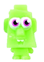 Rocky figure scream green