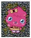 Sticker Poppet shiny 91