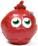 Podge figure bauble red