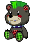 Spike the Scare Bear