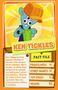 Top trump orange Ken Tickles