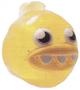 Fabio figure glitter yellow