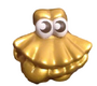 Shimmy figure gold