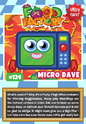 Collector card food factory micro dave