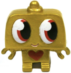 Nipper figure gold