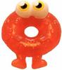 Oddie figure glitter orange