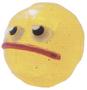 Rocko figure glitter yellow