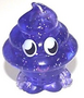Coolio figure glitter purple