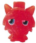 Gingersnap figure glitter orange